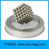 Cube magnétique en Rubik de bille de puzzle magique de qualité