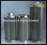 Filtre d'eau/huile d'éléments du treillis métallique d'acier inoxydable 316