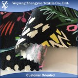 L'alta qualità ha stampato il tessuto di nylon di Bengaline di stirata del rayon della saia