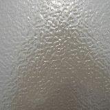 Hoja de estuco o de aluminio color blanco de la parte del congelador
