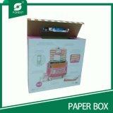 Caja de embalaje de cartón Mango de plástico para el envío
