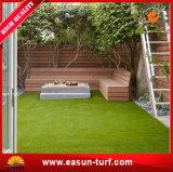 يرتّب حديقة اصطناعيّة مرج عشب لأنّ وقت فراغ