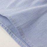 Garçons bleus et chemise rayée blanche pour le printemps/automne