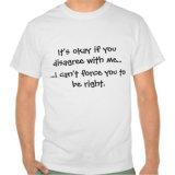 재미있은 따옴표 셔츠