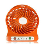 Hot 3 Speeds Mini Fan com USB Mobile Power bateria recarregável