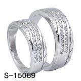 Juwelen 925 de Zilveren Fabriek Hotsale van de manier van de Ring van het Paar