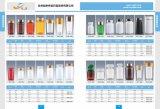bouteille transparente de l'animal familier 100g pour la médecine de soins de santé