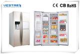 Refrigerador de vidro do Showcase do indicador do bolo de chocolate da porta do carregamento traseiro