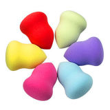 Hot Sell Non-Latex Irregular Shape Compact Cosmetics Sponge Powder Puff