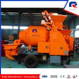 52kw remorque Diesel Pompe à béton à mixer du système hydraulique