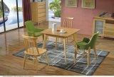 나무로 되는 연약한 의자 바 의자 식사