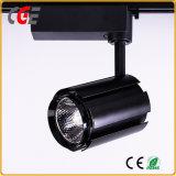 Vía LED 15W/18W/21W CREE COB vía LED iluminación LED Iluminación LED PAR30 Las lámparas de la vía de la luz de abajo