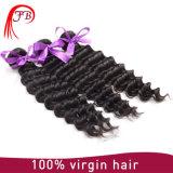 Cabelo brasileiro profundamente Curly brasileiro barato do Weave do cabelo do Virgin