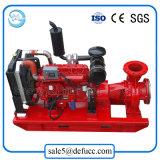 Pompe centrifuge entraînée par moteur horizontale d'étape simple de 3 pouces