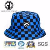2017カスタムロゴの熱い販売の通り様式の小切手の暗藍色の方法バケツの帽子