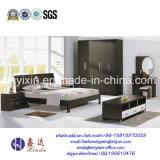 Деревянная мебель спальни гостиницы короля Размера Кровати Дубай (SH-004#)