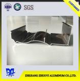 Perfil de alumínio da cor de madeira para a porta de alumínio a da porta