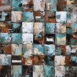 La reproduction de l'huile d'art abstrait de la peinture murale