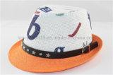 Chapéu de palha para crianças / chapéu de palha para crianças de decoração de alta qualidade (DH-LH9102)