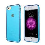 Claro Transparente colorido Celular de TPU para iPhone 7