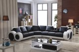 Hot-Selling современной гостиной U-образный кожаный диван (HCC138)