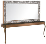 De grote Eenheid van de Apparatuur van de Schoonheid van de Post van de Spiegel van de Winkel van de Kapper