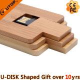 USB de giro sobre um eixo de madeira Pendrive dos presentes relativos à promoção da mobília (YT-3132)
