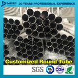 Profilo di alluminio personalizzato dell'espulsione del tubo 6063 rotondi del tubo