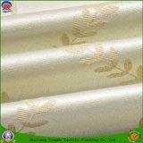 Tissu imperméable à l'eau de polyester d'arrêt total de franc de tissu tissé par polyester à la maison de textile pour le guichet