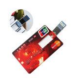 Cartão de Crédito Flip de plástico da unidade Flash USB 3.0 Aceitar Paypal