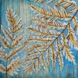 De nieuwe Varen verlaat AcrylOlieverfschilderij op Canvas