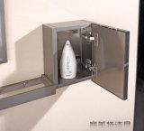 Einfache Art Belüftung-Deckel-Metallbadezimmer-Hotel-Eitelkeits-Sets