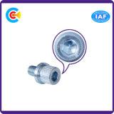 나사로 깔쭉깔쭉하게 한 안 육각형이 DIN/ANSI/BS/JIS Carbon-Steel에 의하여 또는 Stainless-Steel 4.8/8.8/10.9는 직류 전기를 통했다
