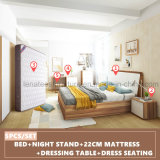 Bj01A neue Ankunfts-Melamin-Schlafzimmer-Möbel-Hotel-Möbel