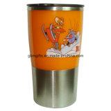 9oz /0.26L Recharge promotionnelle en acier inoxydable Refill Vacuum Mug
