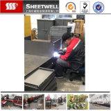 Изготовление металлического листа заварки OEM TIG алюминиевое