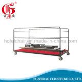 Портативная дешевая стальная складывая тележка вагонетки