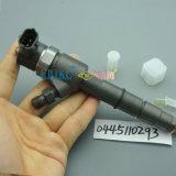 Inyector original 0 de Bosch del combustible de Durablity del desgaste 0445110293 inyector completo del comentario favorable de 445 110 293 Greatwall Bosch