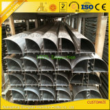 Anodisiertes Aluminiumpartition-Profil für Büro-Zelle-Arbeitsplatz