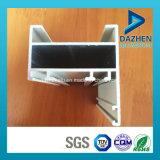 Grão de madeira perfil de alumínio personalizado da extrusão para a porta do indicador