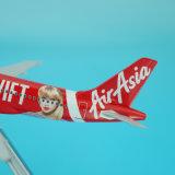 Rabot rapide de modèle en métal A320 d'Airasia Taylor