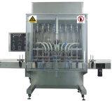 Lineal Tipo de leche bebida de té taza de agua automático de llenado de la máquina máquina de etiquetado