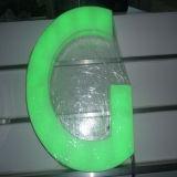 방수 LED 지구를 가진 장식적인 충분히 분명히된 아크릴 LED 알파벳 편지
