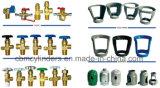 Protector metálico para los cilindros de gas