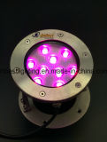 Anti-Rust Pool Light 9W LED Light Changement de couleur RVB