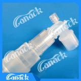 Tube de respiration coaxial remplaçable de l'oxygène de circuit