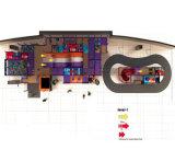 Beifall-Unterhaltungs-Platz-themenorientierter Innenspielplatz