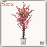 4f Decoração Mini Bonsai Árvore de Flor de Cerejeira Artificial