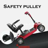 Scooter de mobilidade em scooter desabilitado