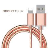 금속은 iPhone를 위한 USB 데이터 충전기 케이블을 비용을 부과하는 번개를 덮었다